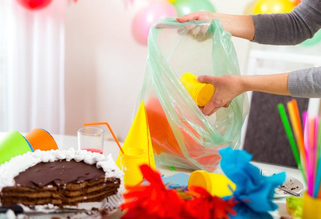 Limpiar despues de fiesta