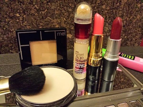 diferentes usos maquillaje