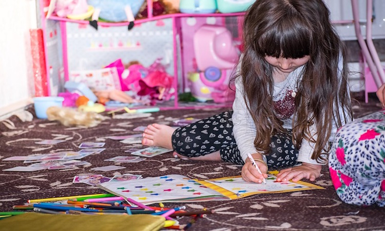 niños más organizados en casa pasos