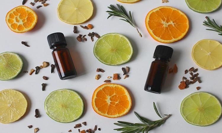 bebidas aceite esencial de limon