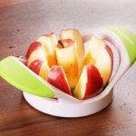 ahorrar tiempo cocina cortador de manzanas