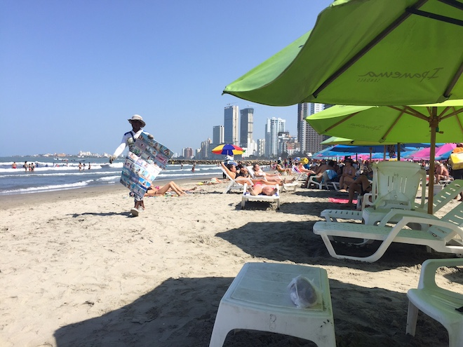 Hacer cartagena - playa