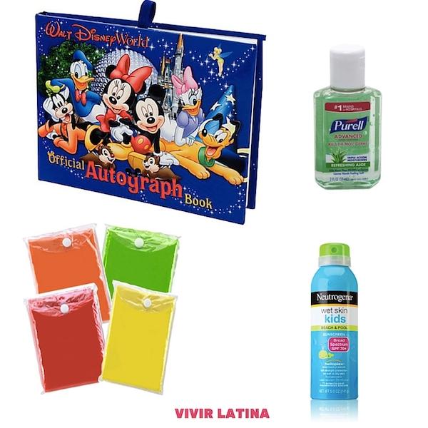 Cosas esenciales que debes llevar a Disney