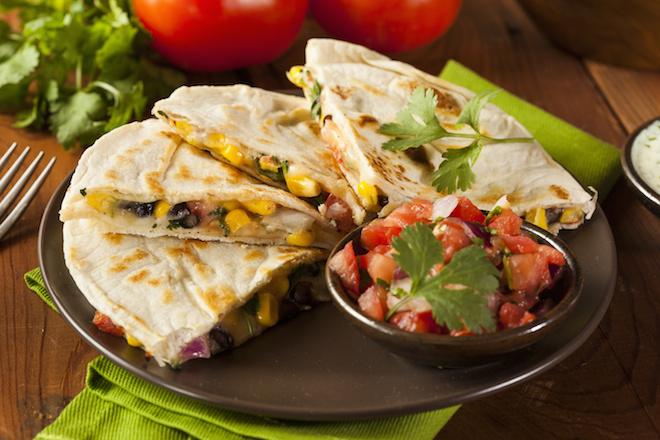 Comidas Latinas para Disfrutar Quesadilla