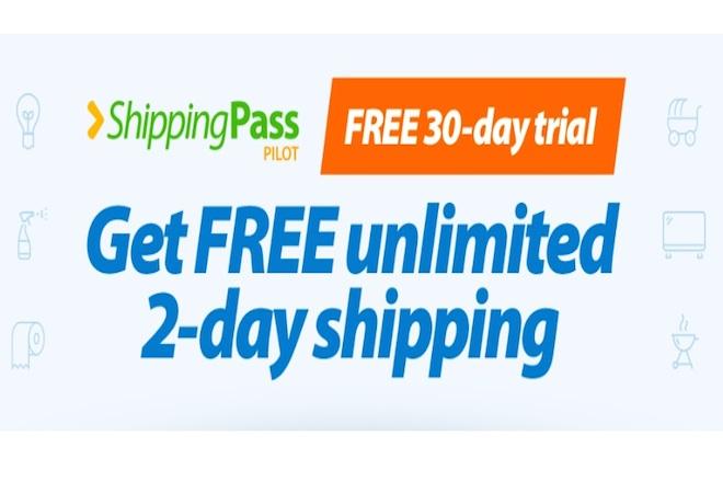 Prueba gratis Shippingpass walmart