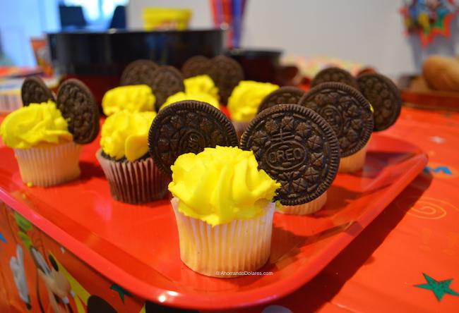 Fiesta de Mickey Cupcakes