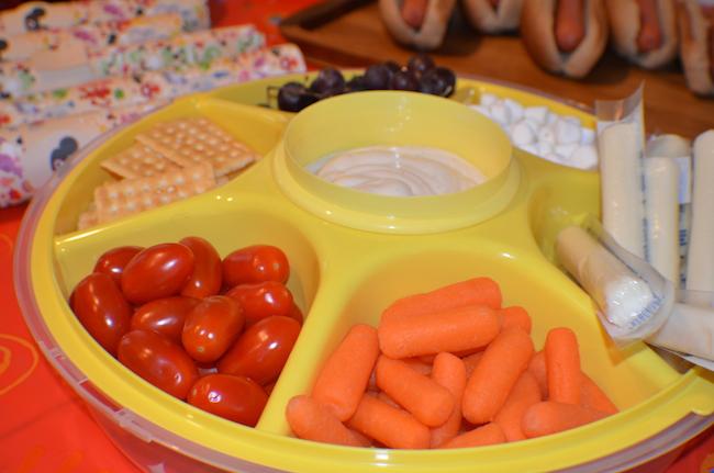 Fiesta de Mickey Mouse snacks