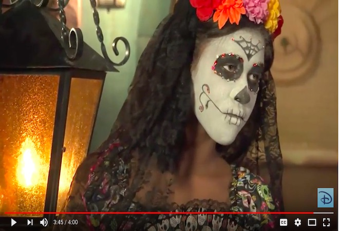 Maquillaje dia de los muertos video
