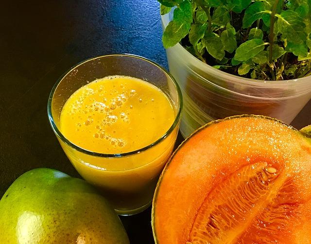 batidos detox faciles frutas