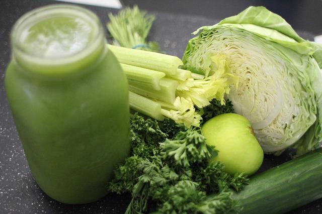 batidos detox faciles verde