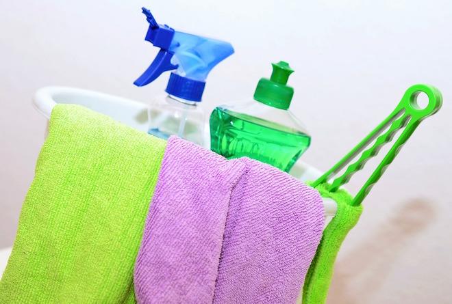 Rutina de limpieza casa