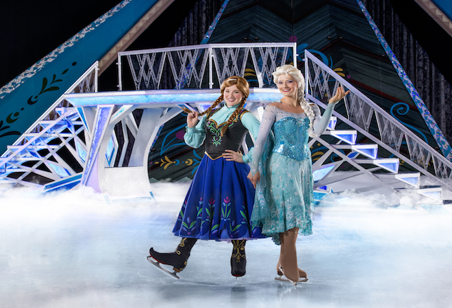 Disney on Ice Connecticut Anna and Elsa