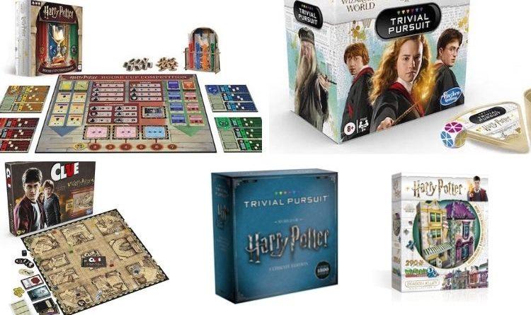 Juegos de Mesa Harry Potter para Jugar