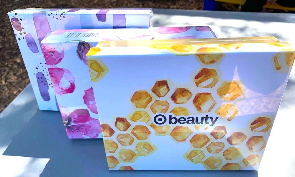 Cajitas productos de belleza Target