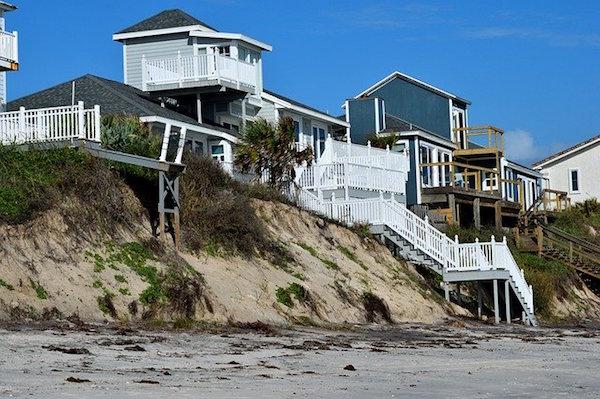 la llegada de un huracan riesgos