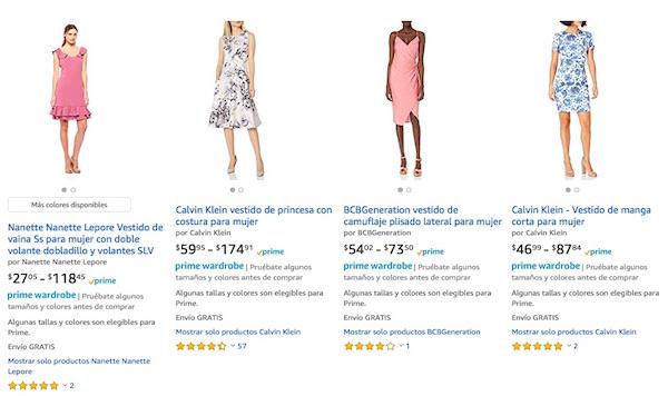 comprar con prime wardrobe Amazon