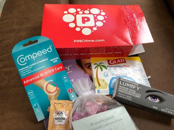pinchme para recibir productos por correo