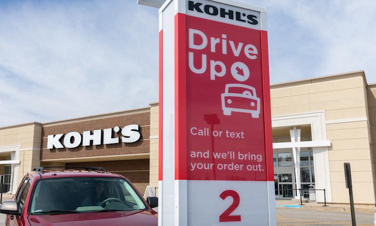 Kohls cupones Drive Up