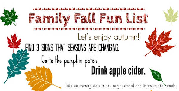 Actividades gratis de otoño