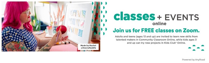 clases gratis online de crafts y proyectos