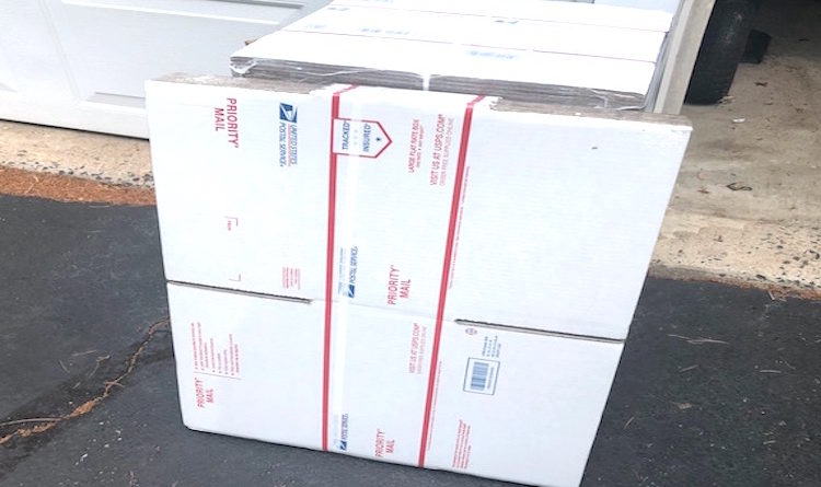 Cajas gratis envios por correo