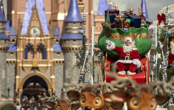 Holiday Celebrations at Magic Kingdom Park