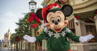 Walt Disney World Resort Reimagines Holiday Traditions for 2020