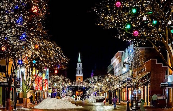 Luces de Navidad Ciudad
